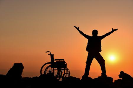 freedom, health and self-confidence Standard-Bild - 95072600