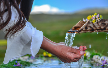 valuable, healthy and pure mountain waters