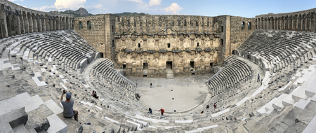 aspendos theater attractions and visits