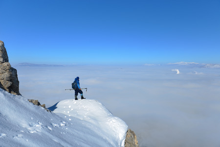 spectacular views of the summit and birds-eye view