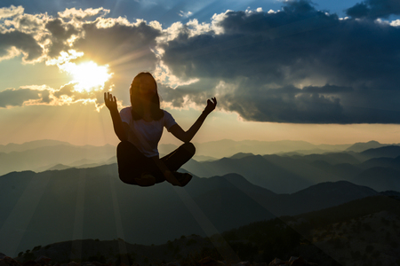 Meditation, success and tranquility in the summits of the mountains