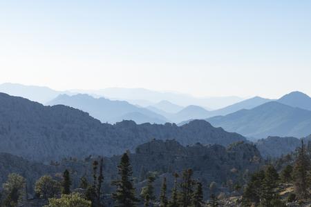 Turkey's magnificent mountainous areas Stock Photo