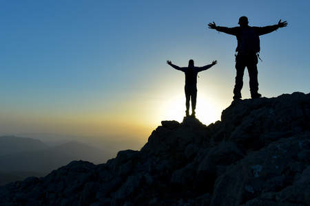 peak and target passion, successful people