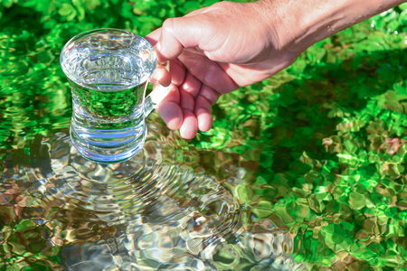 drinkable, pure, clean and hygiene natural waters