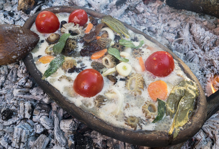 natural mushroom meal cooking from nature