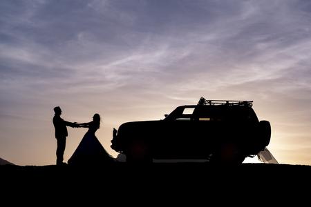 the best days of happy couples Stok Fotoğraf