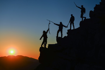 Passion, a happy victory and a passion for the summit