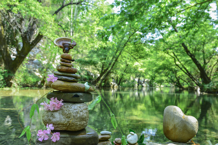 life style balance and a healthy,happy and peaceful life