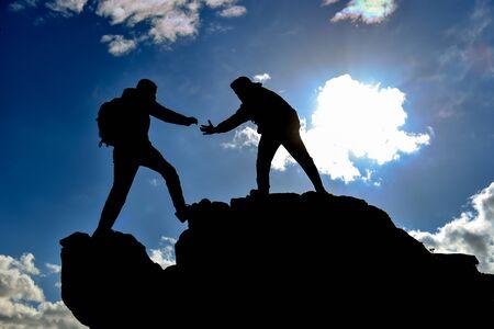 Geist der Einheit, Zusammengehörigkeit und Nächstenliebe Standard-Bild