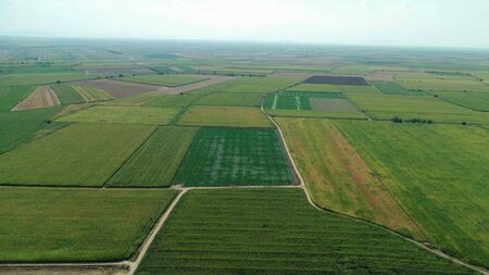 large agricultural land, corn, wheat and beet production areas