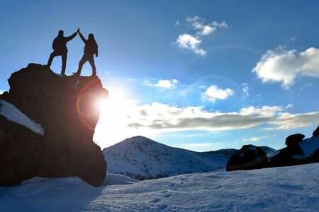 spectacular success happiness for climbers