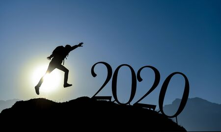 Journey to the future, work hard in the new year to succeed