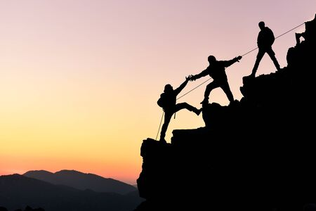 the real results of a real struggle and cooperation always lead to success
