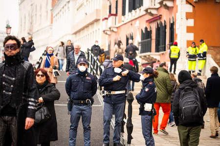 23 february 2020, Venice, Italy. Editorial