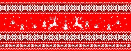 sueter: Navidad su�ter de impresi�n  Vectores