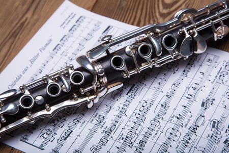 Op klarinet bladmuziek