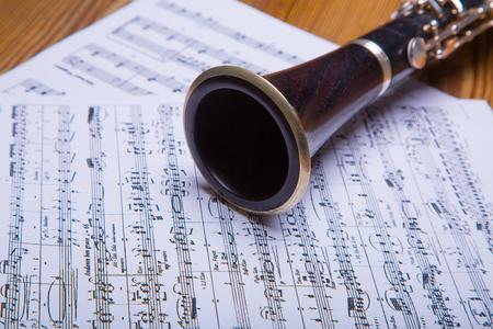 clarinet: En las partituras de clarinete