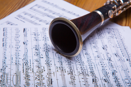 ebony: On clarinet sheet music