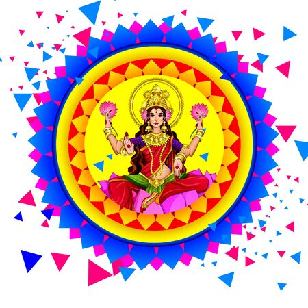 Diwali Festival Sale, Sticker, fire cracker and line art based Traditional floral burning lamp , Bumper Dhamaka Offer, Biggest Sale - Vector Illustration Usable for Poster, Banner ,Flyer Stok Fotoğraf - 132223900