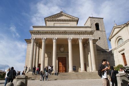 sammarinese: Basilica di San Marino