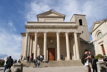 san marino: Basilica of San Marino