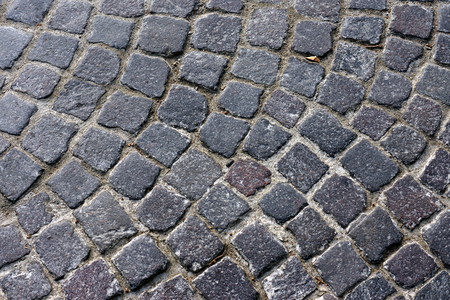 Old Cobble Stone Street photo