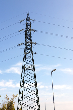 Electricity pylon Stock Photo - 22633303