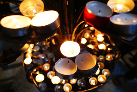 Candles holder photo