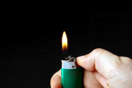 cigarette lighter: Encendedor