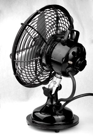 Old Fan Stock Photo