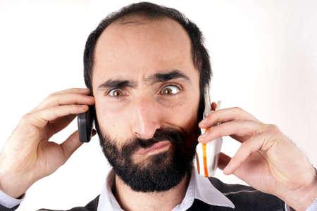 Communication man photo