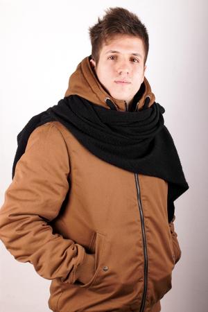 anorak: Boy with anorak