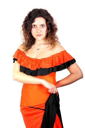 danseuse de flamenco: Le danseur de flamenco Banque d'images