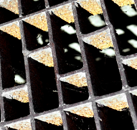 쇠 격자: Drain grate texture