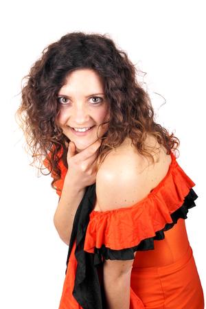 bailarina de flamenco: Bailaora Foto de archivo