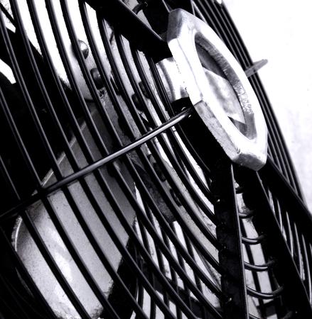 oscillation: Studio shot of an old electric fan