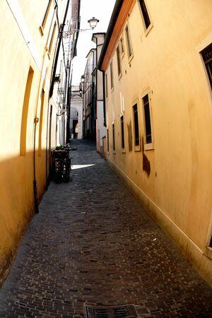 grappa: Detail of Bassano del Grappa town in Italy
