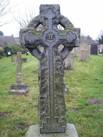 picture was taken on a graveyard in England