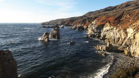 soberanes point on the california coast in big sur