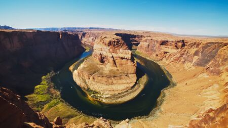 horseshoe bend at glen canyon