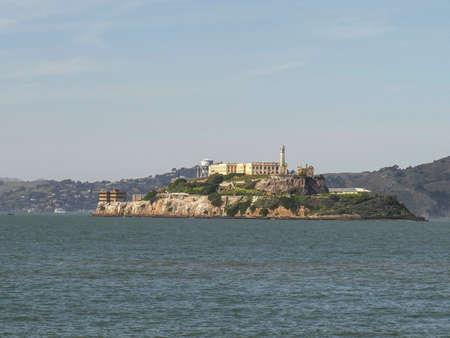 alcatraz island from the embarcadero area of san francisco
