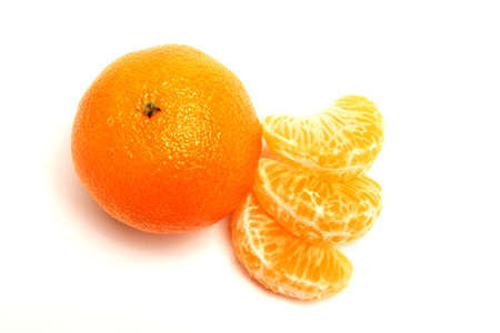 Whole Mandarin with Mandarin segments Stock Photo - 521066