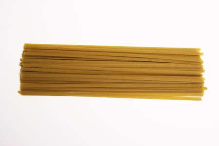 Spaghetti Pasta on a white background Stock Photo - 520955