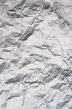 textural: Scrunched paper texture ruffled rough Stock Photo