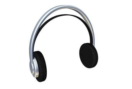 muffs: Pair of simple 3d headphones