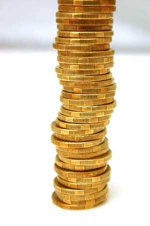 dollar coins: A pile of australian dollar coins
