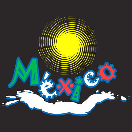 cancun: Mexican logo