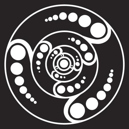 UFO 디자인 일러스트