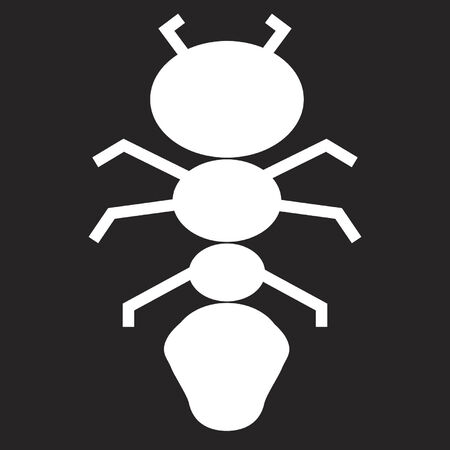 Ant UFO design Vector