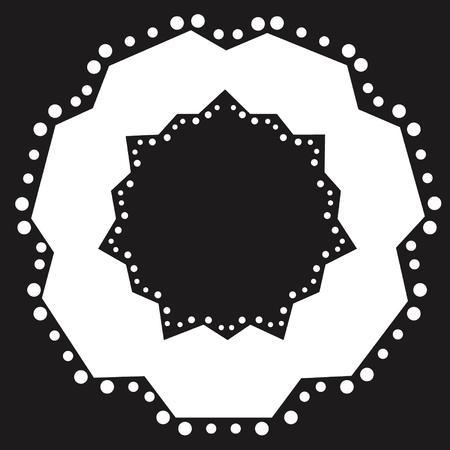 UFO-design  Stock Illustratie